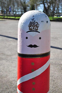 Old Soldier with a moustache