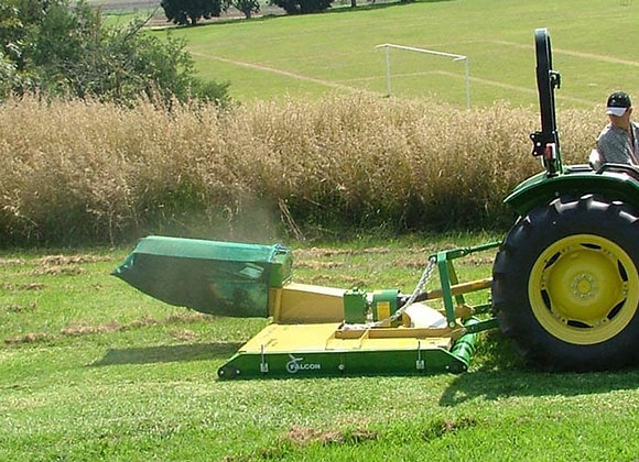 Sports Field Tractor and Blower Mowers