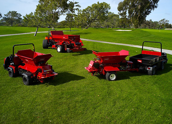 TORO Topdressers and Groomers
