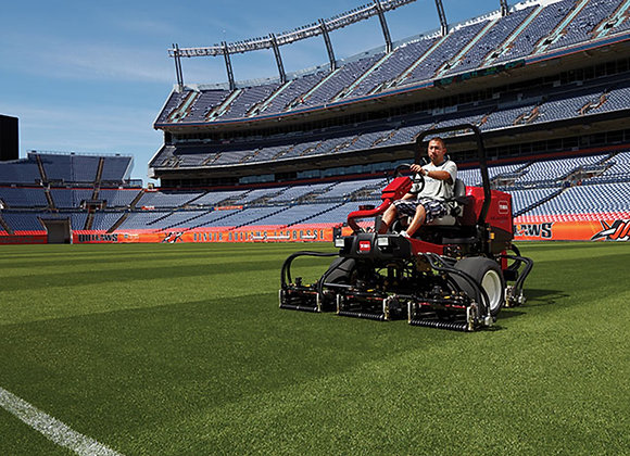 Sports Field Ride on Cylinder Mowers