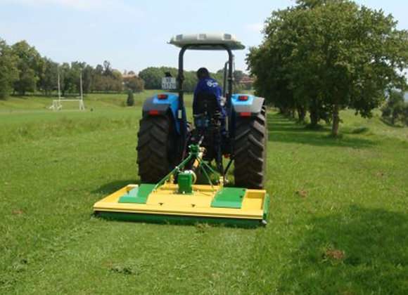 Sports Field Tractor and Turf Pro Finishing Mower