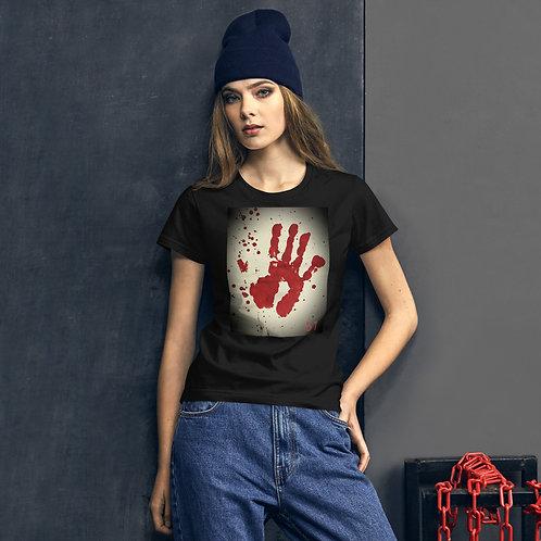 51 The Series Handprint Women's short sleeve t-shirt