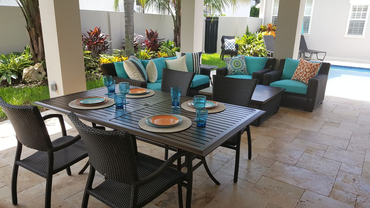What We Do Elegant Outdoor Patio Furniture
