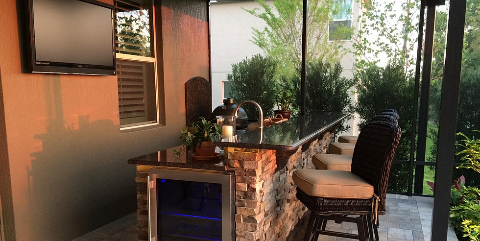 Perfect Patio Style Outdoor Kitchens Longwood Florida Orlando Florida With Summer  Kitchen Design.