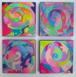Spiral Curlicu Quartet