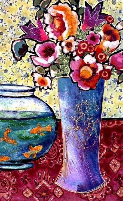 Fish Bowl and Posies