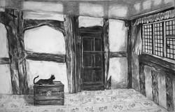Alley Room Cat