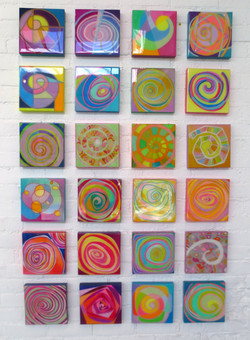 Wall of Spirals