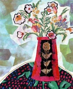 Bird Blossom Vase