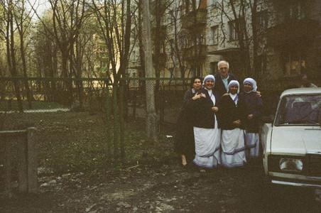 У Сестер Матери Терезы в Москве