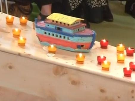 Похороны Жана Ванье (Видео. 16 мая 2019)