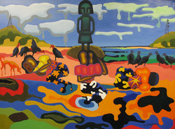 2012 mujeres en taboga himenaje a Gaugui