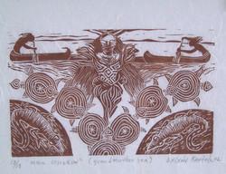 2002-Muu Osiskun linograbado