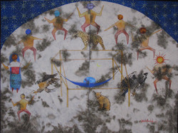 2009- Nega Du 29X38.5 Inches