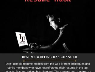 Resume Hack of the Week: Resume Writing Has Changed