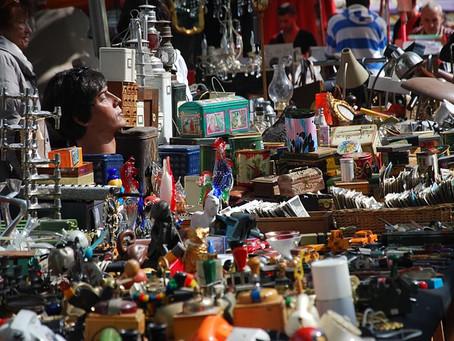 El Rastro Market: Madrid