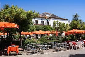 Plaza de los Naranjos in Marbella Spain