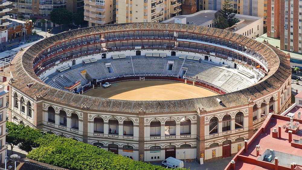View of the Plaza de Toros