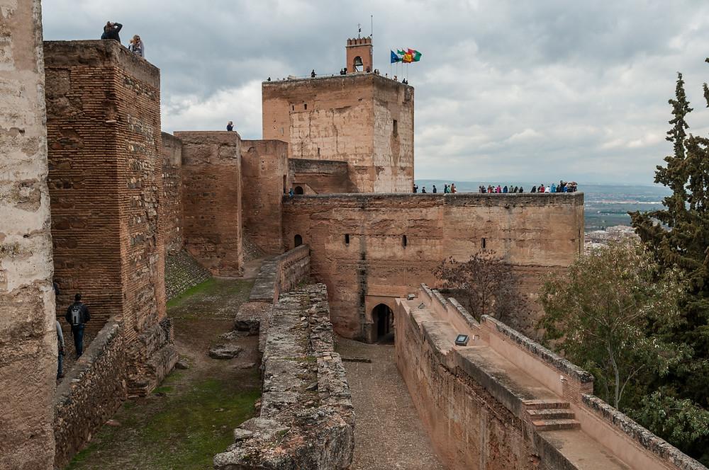 La Alcazaba in Malaga