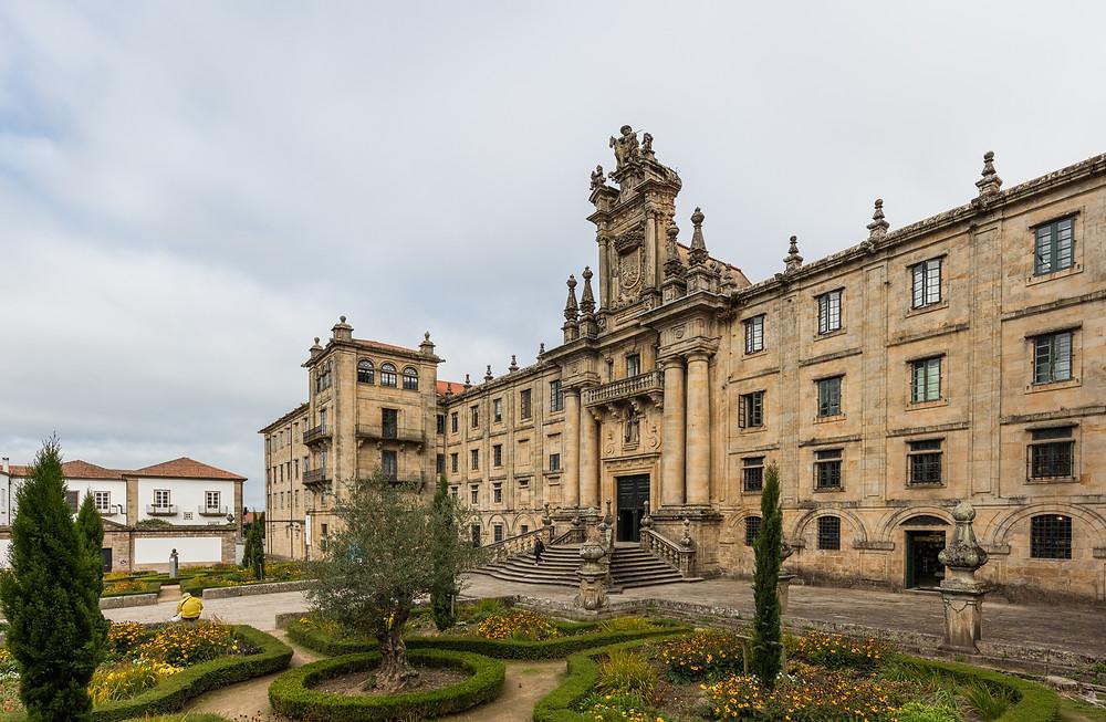 Monastery of San Martiño Pinario in Santiago de Compostela