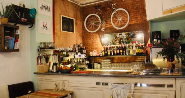 Bicioci Bike Cafe in Barcelona