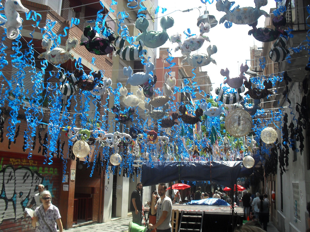 Festa Major de Gracia, held each August