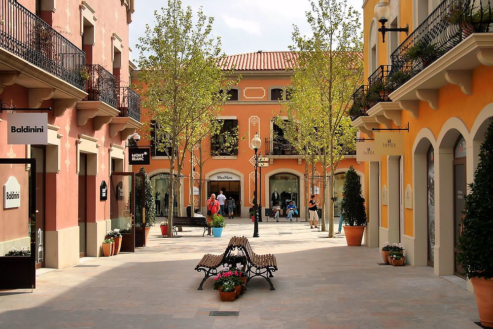 La Roca Outlet Malls for shopping in Barcelona