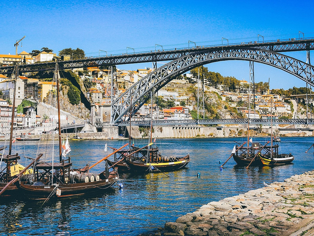 Porto, Portugal in Fall