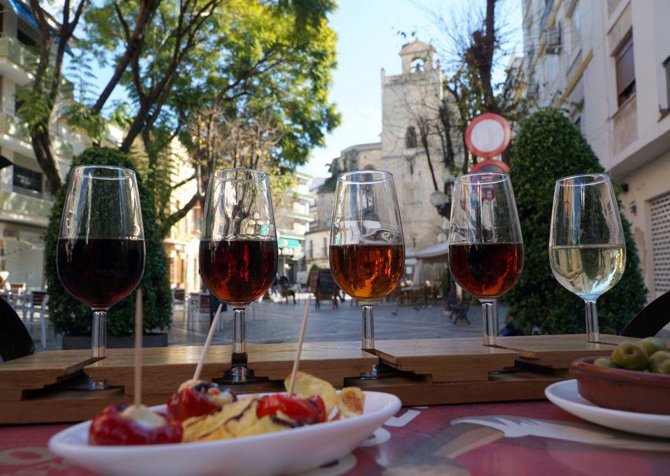 Wine in Andalucia