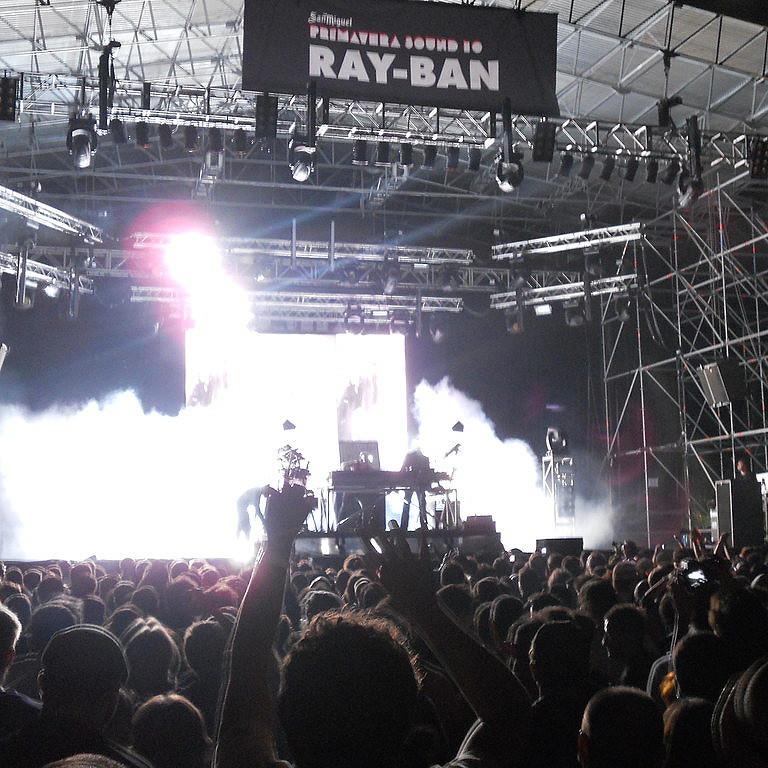 Primavera Sound Music Festival During Spring in Spain