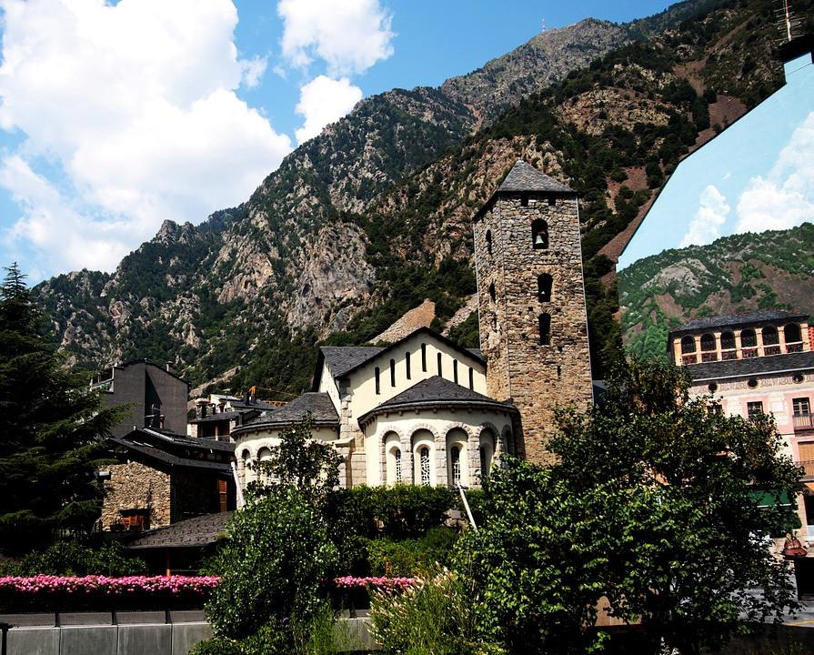 Church Andorra La Vella