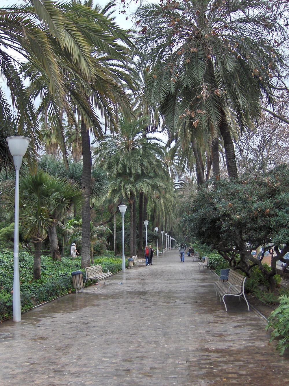 Parque de Málaga in Malaga
