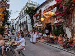 Old Town in Marbella Spain