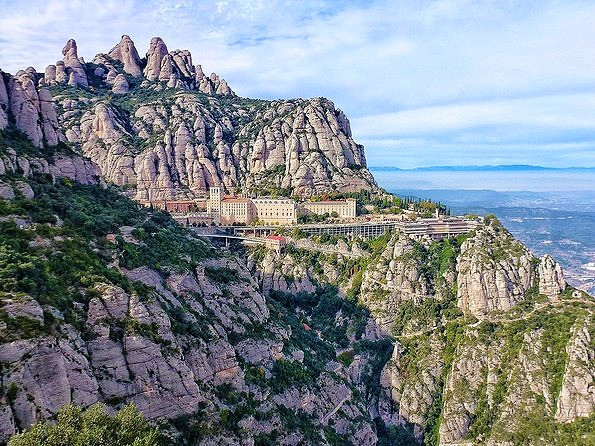 Fall in Spain's Mountains of Montserrat