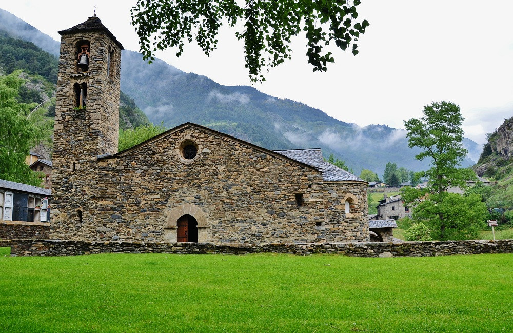 Church of Sant Martí de la Cortinada in Andorra