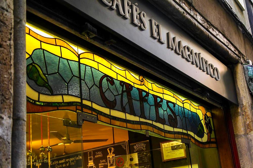 Cafés El Magnifico in Barcelona