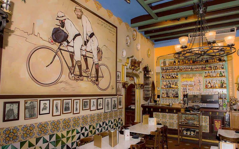Els Quatre Gats restaurant in Barcelona's Gothic Quarter