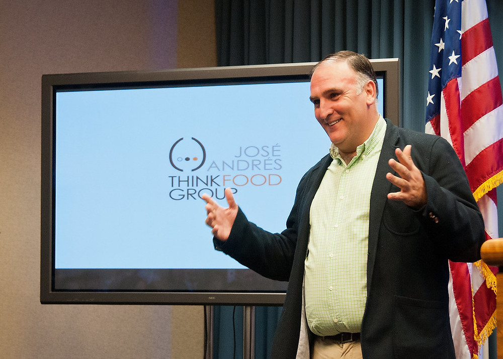 Jose Andres Receives Recognition for Charitable Work