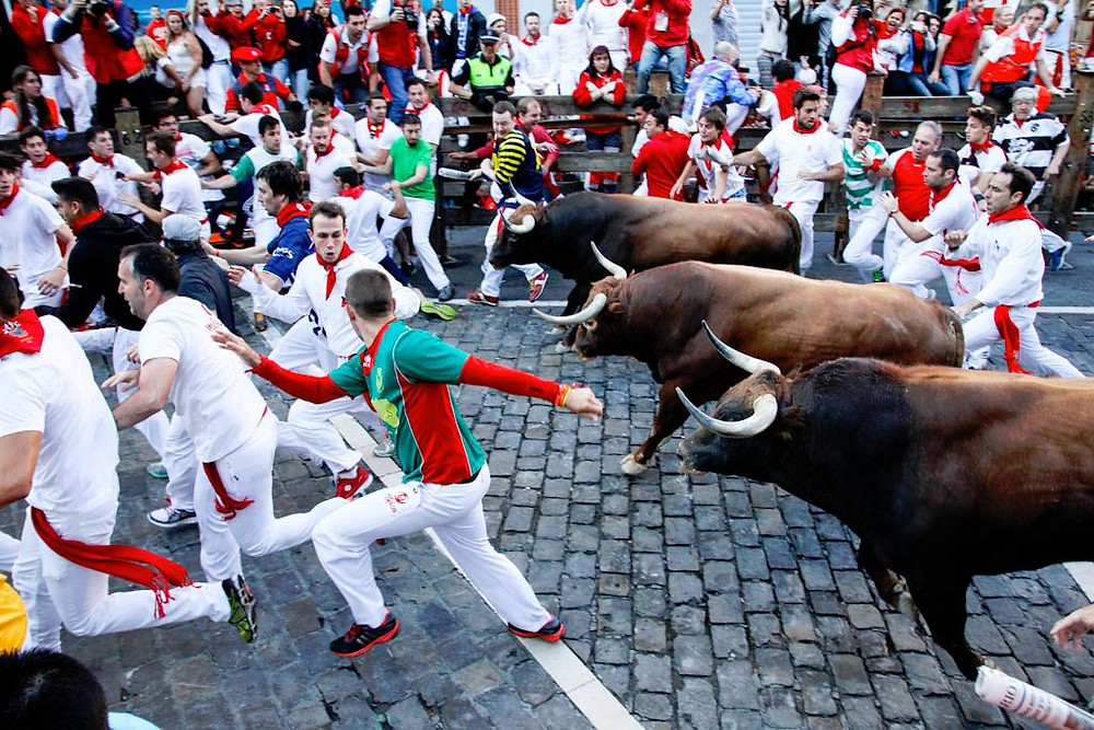 Running of the Bulls- Famous Festival in Spain