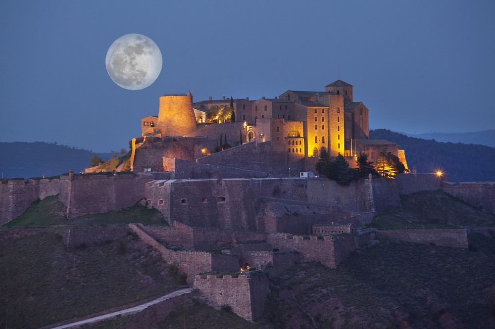 Romantic night at a Parador in Spain