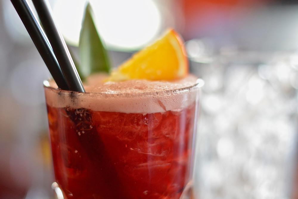 A refreshing, tasty treat of a glass of Tinto de Verano