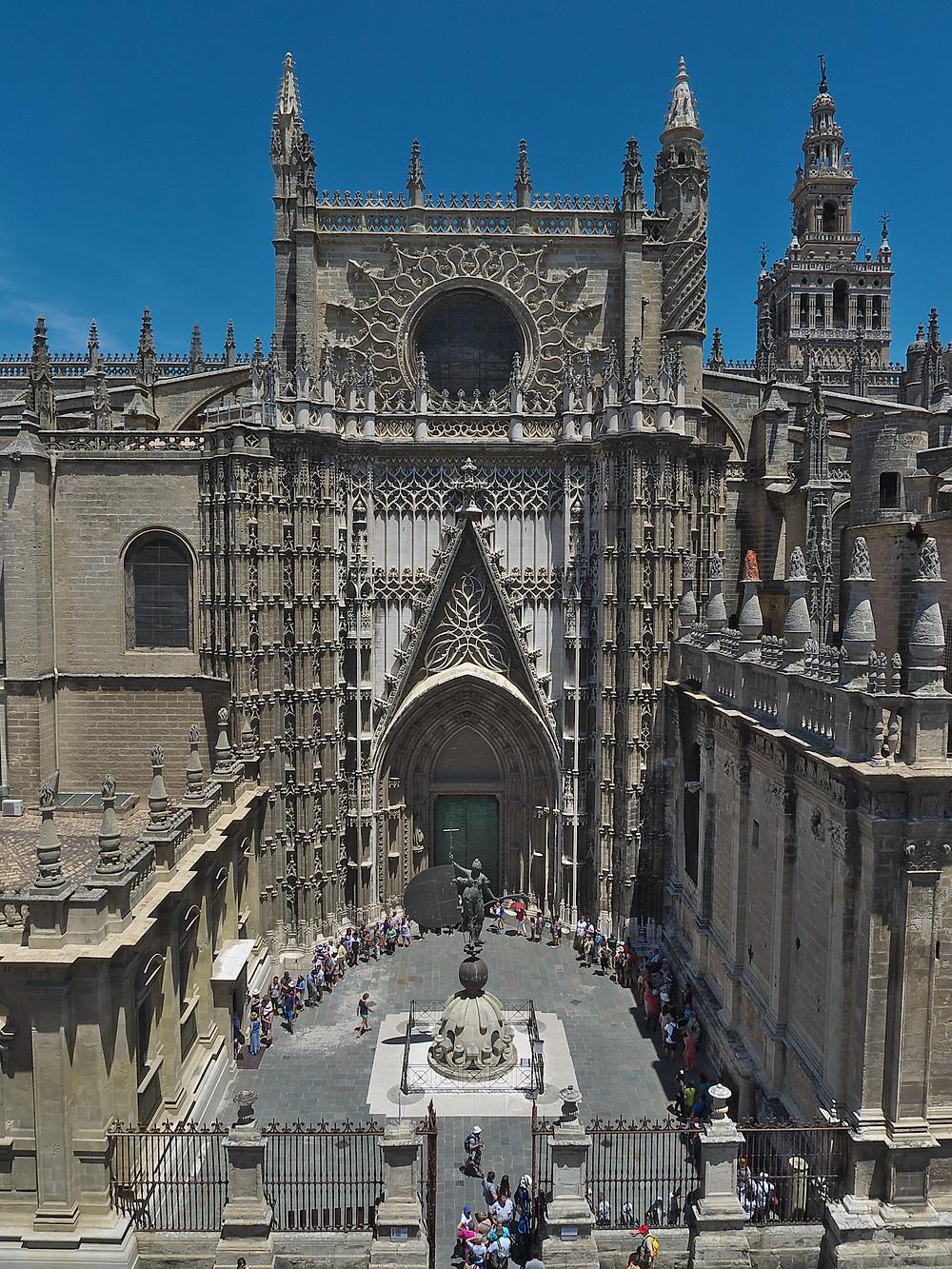 View of the Catedral de Sevilla