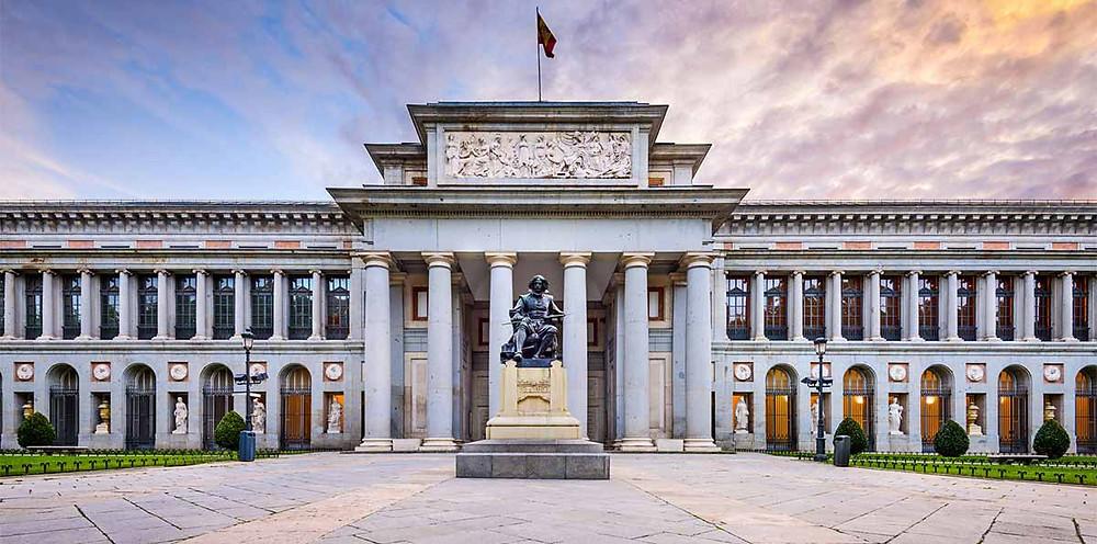 The Prado Museum in Madrid, Spain.