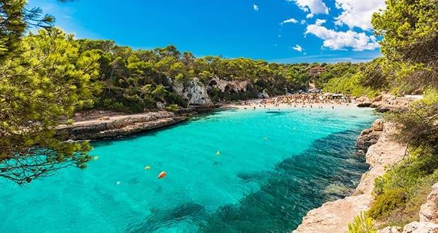 Cala Llombards in Mallorca Spain