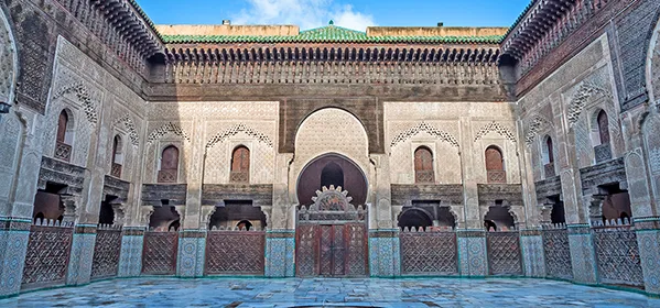 Bou Inania Madresa in Fez, Morocco