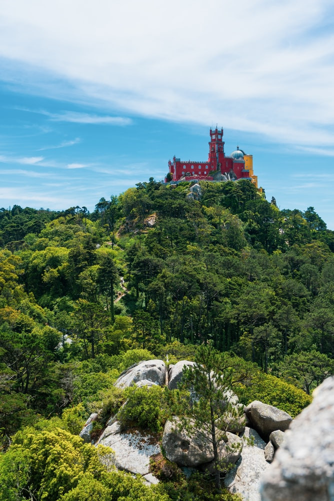 Sintra, Portugal in Fall