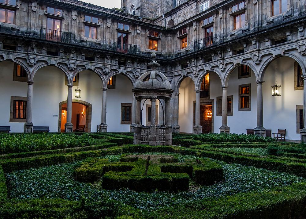 Parador in Santiago de Compostela, Spain