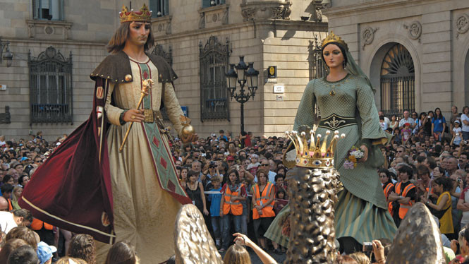 Image from the La Merce Festival