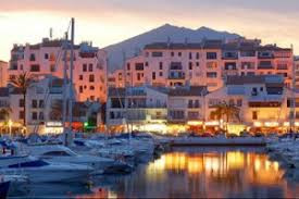 Puerto Banus in Marbella Spain