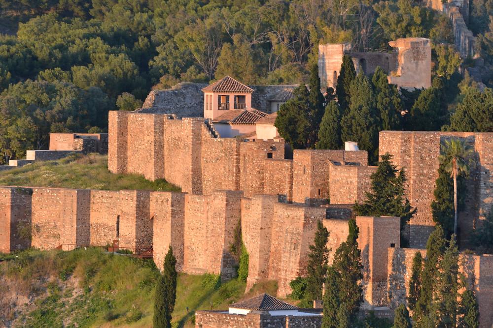 Castillo de Gibralfaro in Malaga